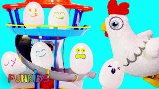 Paw Patrol's Chickaletta Surprise Egg Game