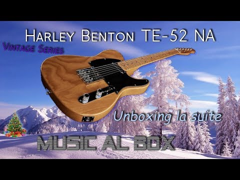 Harley Benton TE- 52 Presentation (Unboxing 3)