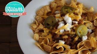 Frito Chili Pie   Hilah's Texas Kitchen
