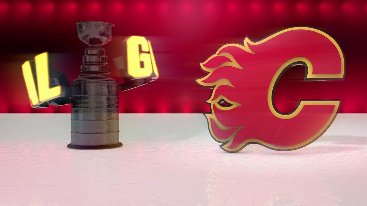 Calgary Flames 2019 Playoff Goal Horn Youtube