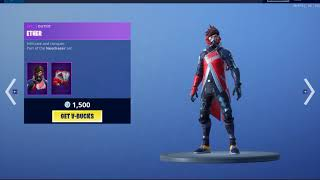 Fortnite *NEW* Versa & Ether Skin, Deep Sea Destroyer is Back!, New Wrap and Emote 19/05/2019