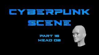 Cyberpunk head 16