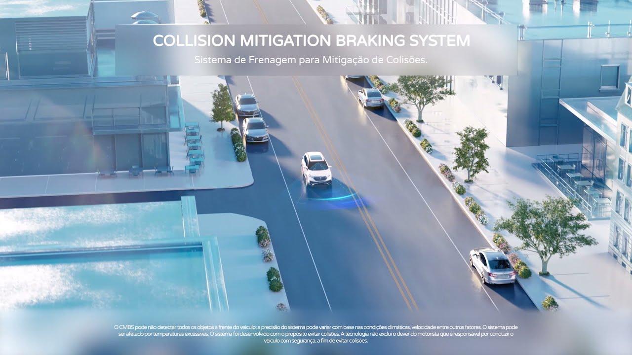 CR-V I Honda Sensing® - Collision Mitigation Braking System