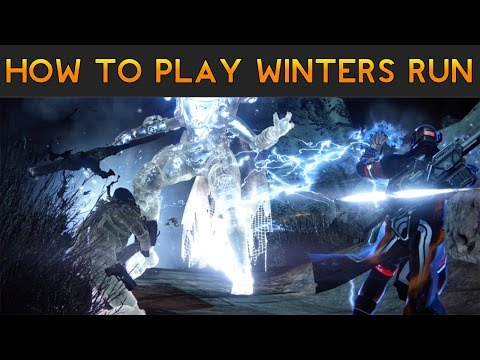 Destiny - How to Play The Winters Run Strike (Taken Archon Priest!)