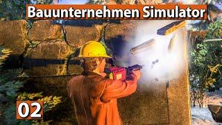 BAUUNTERNEHMEN SIMULATOR 🏗️ Der Saloon muss weg! ► #2 Demolish And Build 2018 deutsch