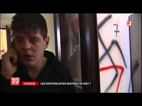 UKRAINE Les NAZIS contrôlent rues, Mairie de KIEV et les entrées sorties du Parlement