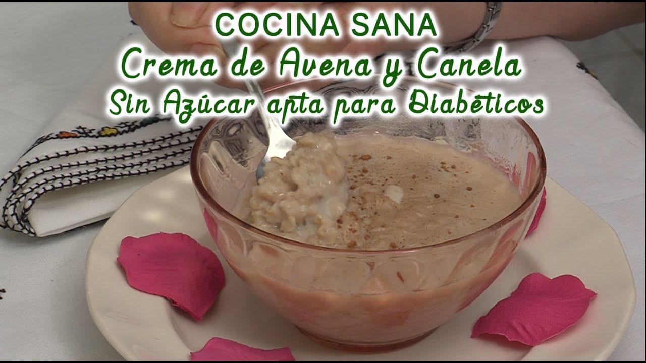 Crema de Avena y Canela, sin azúcar, apta para diabéticos