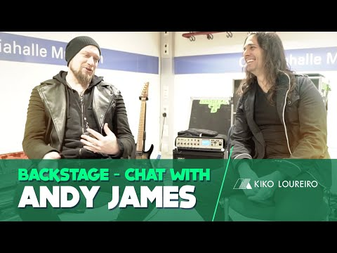 Backstage Chat With Andy James - Stage Fright, Practicing Routine And Influences ( Legendado)