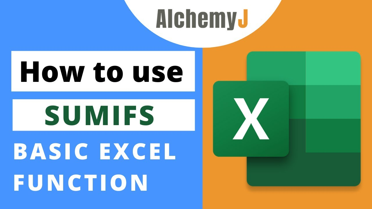 Basic Excel Function - How to use SUMIFS Function in Excel