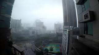 Typhoon Mangkhut in Hong Kong! AHHH