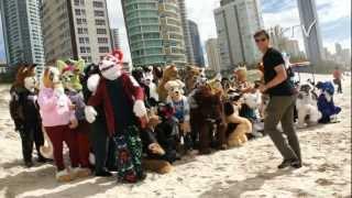 Furry Down Under 2012 - Fursuit Beach Walk teaser...