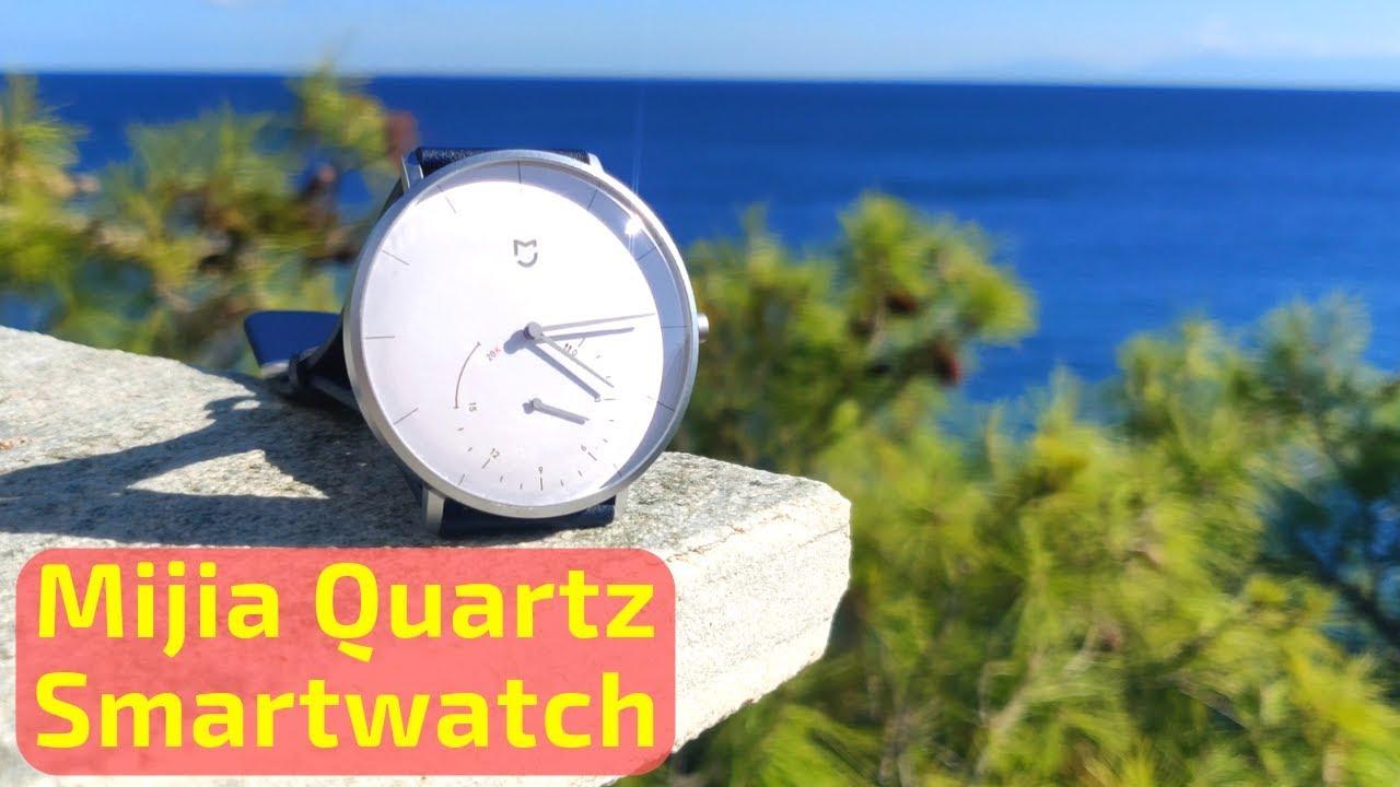 Xiaomi Mijia Quartz (Smart) Watch   Review and battery ...