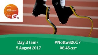 Day 3 | Morning | Nottwil 2017 World Para Athletics Junior Championships thumbnail
