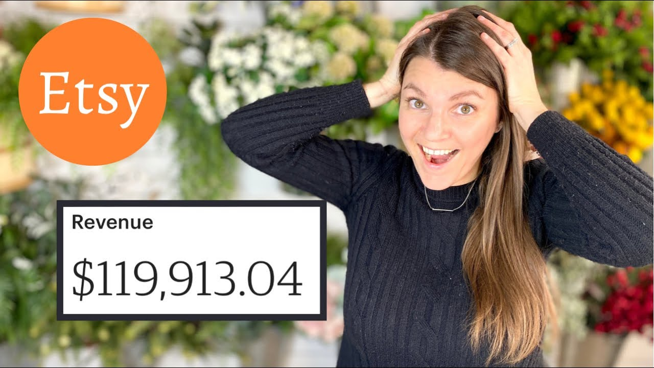 How I made  6 figures on Etsy in one year! What worked and what didn't.