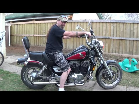 My first street bike 1985 honda shadow vt 1100 youtube 1985 honda shadow vt 1100 publicscrutiny Image collections