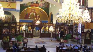 Great and Holy Saturday Vespers and Divine Liturgy at St. Demetrios in Merrick - 2018