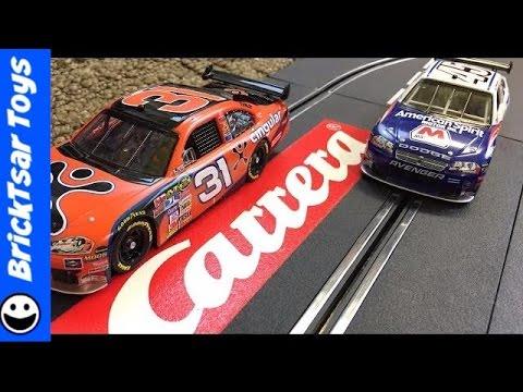 Carrera Evolution NASCAR Winner's Challenge Slot Car Racing Set Cingular Wireless