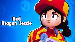 FREE RED DRAGON JESSIE! l Brawl Stars