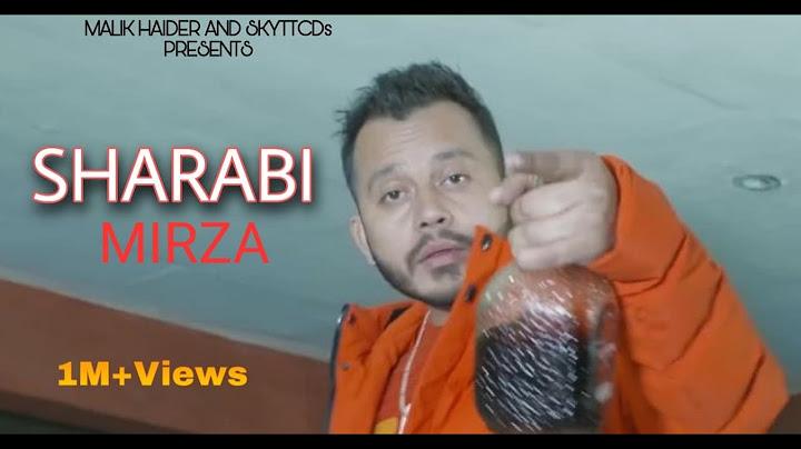 main sharabi mera pyo sharabi official video  mirza  sky tt cds record  new songs 2020