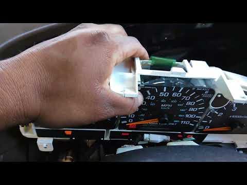 98 Nissan frontier panel de instrumentos
