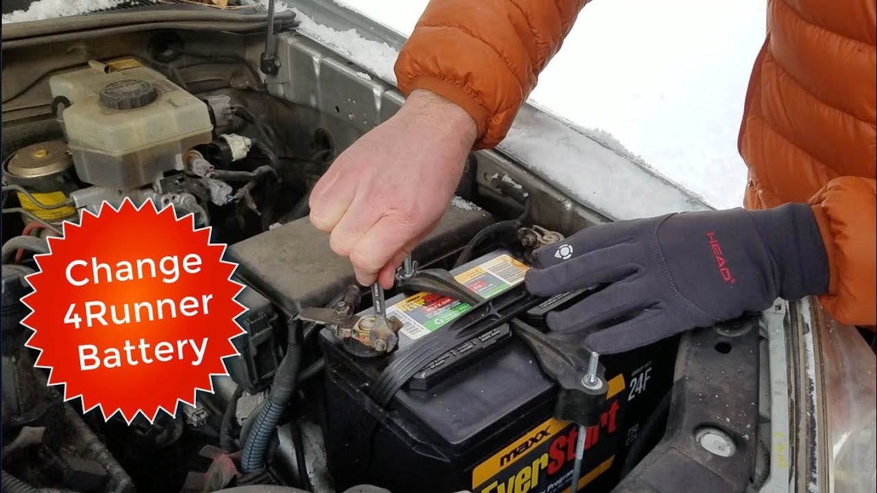 How To Remove Replace Change 4Runner Car Battery