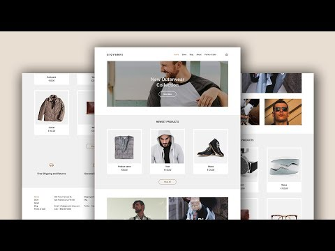 Design A Clothing Website Using Figma - Speed Art - Tutorial thumbnail