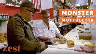 The Muffuletta: How This Gigantic New Orleans Sandwich Was Born   Good Gumbo