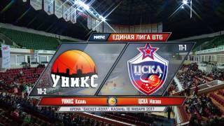 UNICS vs CSKA, January 16, 2017 (Full Game)