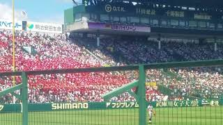 浦和学院高校一回表の応援 ~8月12日 vs仙台育英~