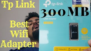 TP-link Wifi Adapter TL-WN823N 300mb (PC) Unboxing (Hindi)