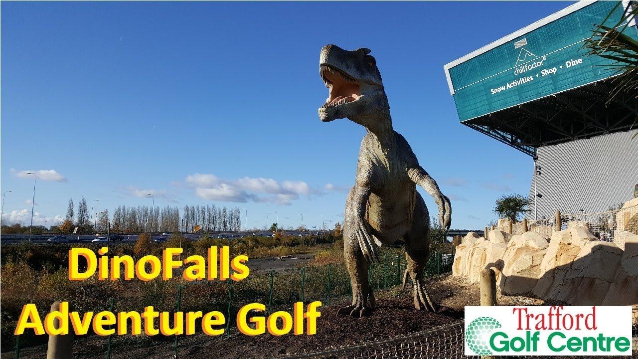 Dino Falls Adventure Golf Trafford Golf Centre