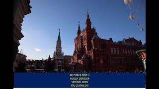 7 MUSTAFA SÖZLÜ RUSÇA DERSLER  FİİL ÇEKİMLERİ