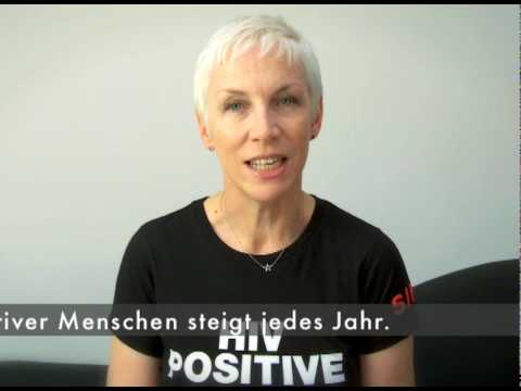 Annie Lennox Talks About Human Rights and HIV/AIDS Rally