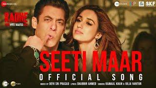 Radhe Movie Song : Seeti Maar | Salman Khan | Disha Patani | Jacqueline Fernandez | EID 2020