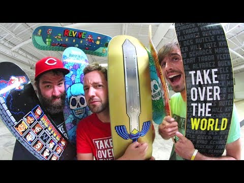 663910d9 BRAND NEW REVIVE SKATEBOARDS! / Video Game Decks! - Summer 2017 ...