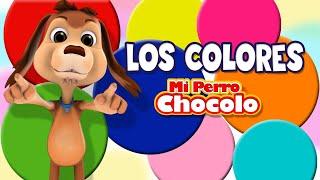 MI PERRO CHOCOLO APRENDE - LOS COLORES EN ESPAÑOL E INGLÉS -