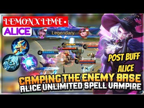 Post Buff Alice, Alice Unlimited Spell Vampire Build [ Lemon ALice] Lemon x Lime ▪ Alice