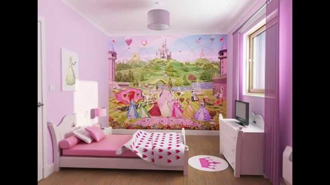 Children room Wallpaper decor ideas