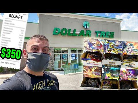 *SCAMMED* OPENING EVERY Pokemon Cards Booster Pack From DOLLAR TREE! (Was It Worth It?)