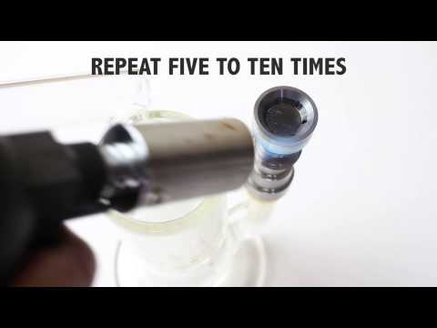 Mighty BEAST - How to season your new flat head domeless titanium nail