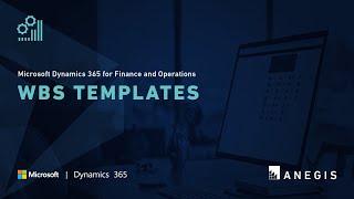 Dynamics 365 Operations: WBS Templates