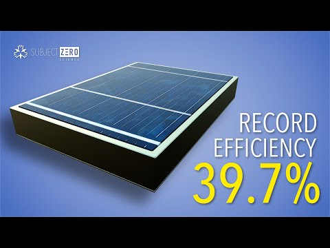 How Scientists Achieved 39.7% Efficiency [2020]