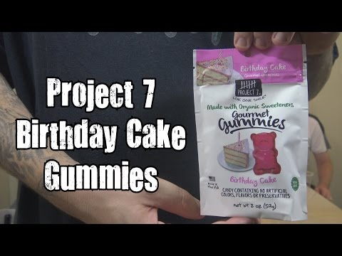 Project 7 Birthday Cake Gummies Review - WE Shorts