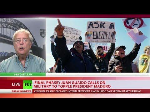 'Final phase' Juan Guaido calls on military to topple President Maduro