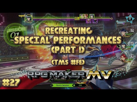 RPG Maker MV Tutorial: Recreating Tokyo Mirage Sessions #FE's Special Performances (Part 1) |