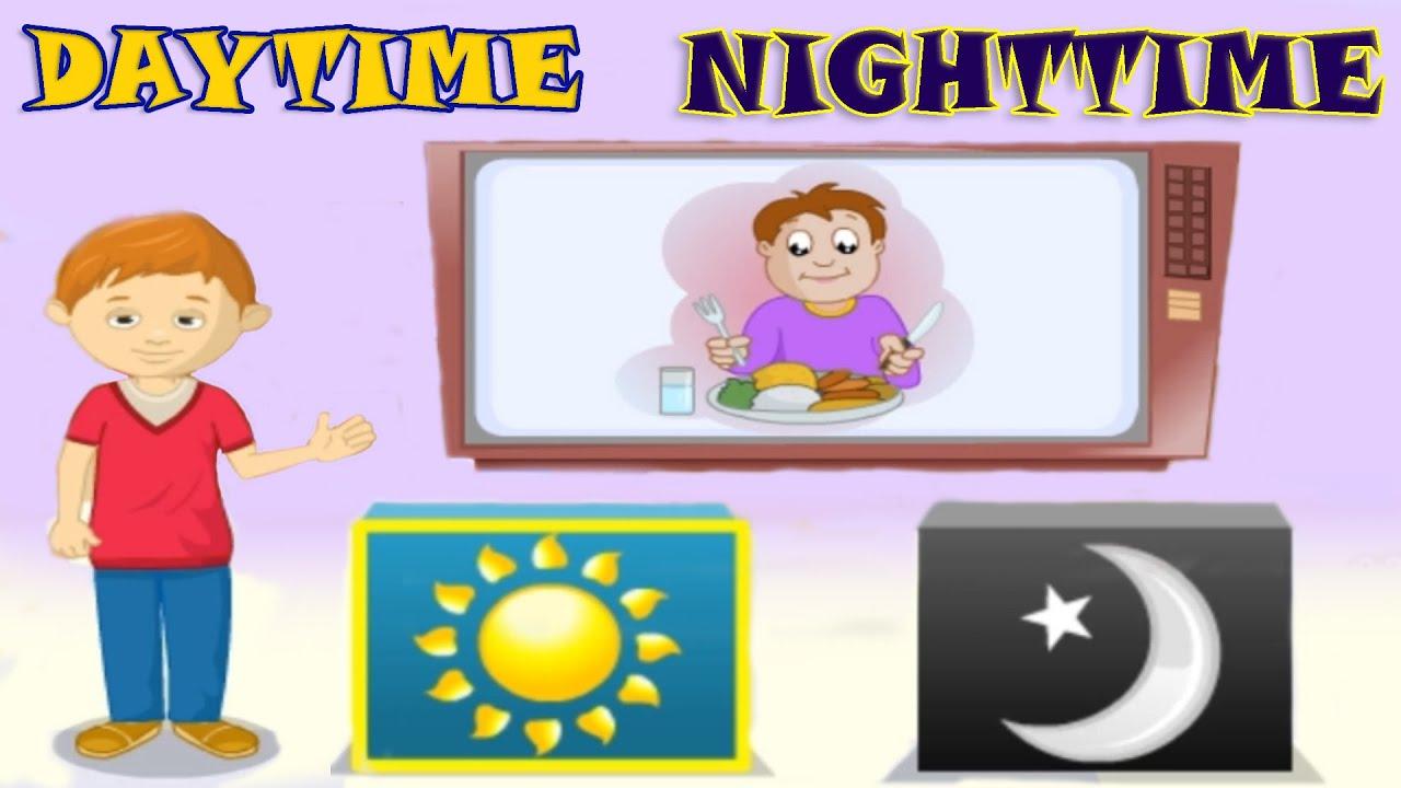 medium resolution of Daytime \u0026 Nighttime