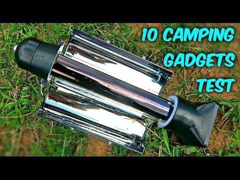 Thumbnail: 10 Camping Gadgets put to the Test