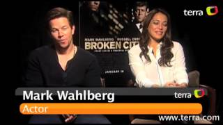 Movies with Maria: Exclusive interview with Mark Wahlberg & Natalie Martínez from Broken City