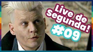 LIVE de Segunda #9 - Johnny Depp fala besteira, Ciri anunciada, Punho de Ferro cancelada e mais!