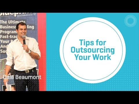 Tips for Outsourcing Your Work
